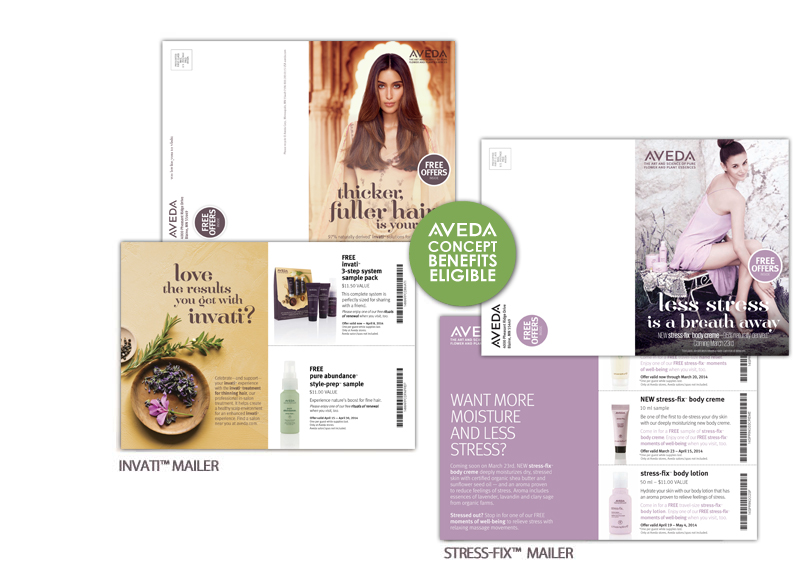 NEW: AVEDA Invati™ & Stress-Fix™ Mailers | IM Marketing Group | An ...