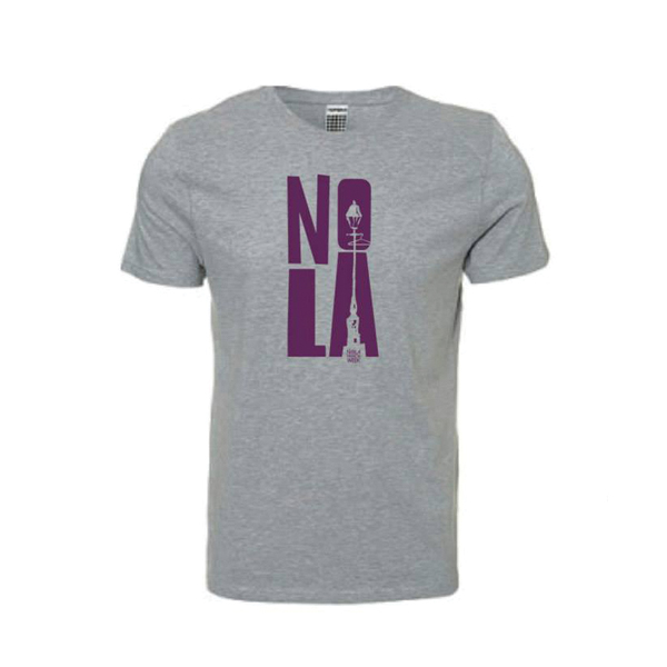 NOLA Fashion Week Spring/Summer T-shirt - Grey