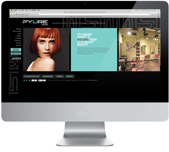 Duplicate of Lux Salon Spa Website