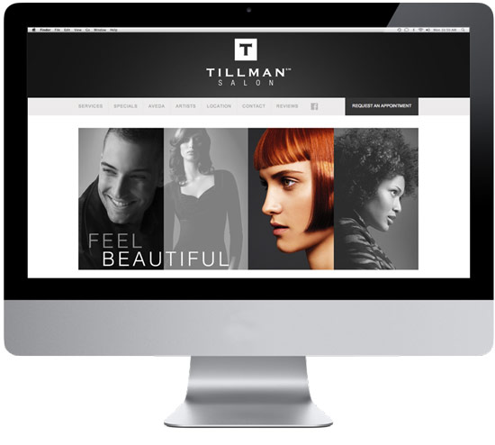 Tillman? Salon Website IM Marketing Group An Aveda Partner