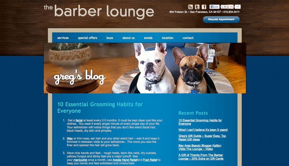 Barber Lounge blog